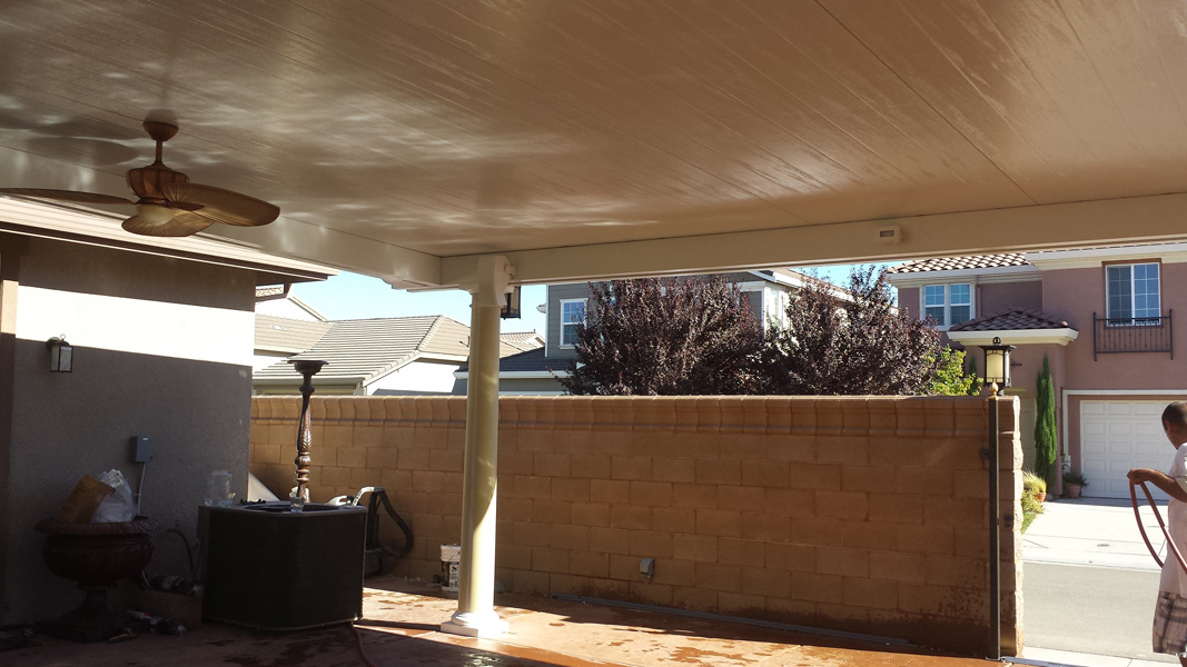 Free Standing Solid Sierra Sun Screens Amp Patio Covers