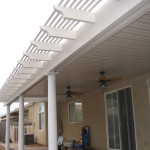 lattice patio cover Elk Grove CA