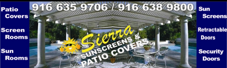 Sierra Sunshades and Patio Covers
